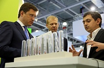 Russian Minister of Energy Alexander Novak at World Petroleum Exhibition