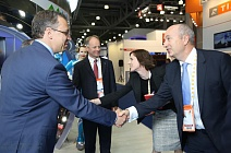 Andy Brown, Shell UI Director, Visited SPD Stand