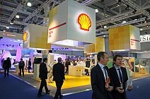 Stand of Shell at World Petroleum Exhibtion