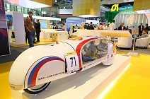 Shell Stand: MADI vehicle for eco-marathon