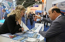 Visitor of SPD Stand at World Petroleum Exhibition