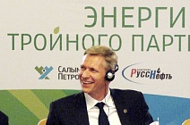 Shell Russia Country Chair Harry Brekelmans